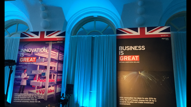Business is GREAT Stage at UK House Milan