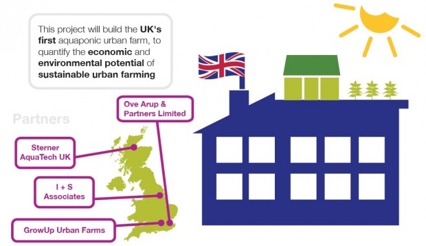 GrowUp Urban Farms' Agri-tech Catalyst project